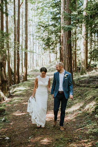 Sunset Cove Cottages is a destination surrounded by 10 acres of secluded natural forest. A perfect backdrop for magnificent photographs as you celebrate your love!
